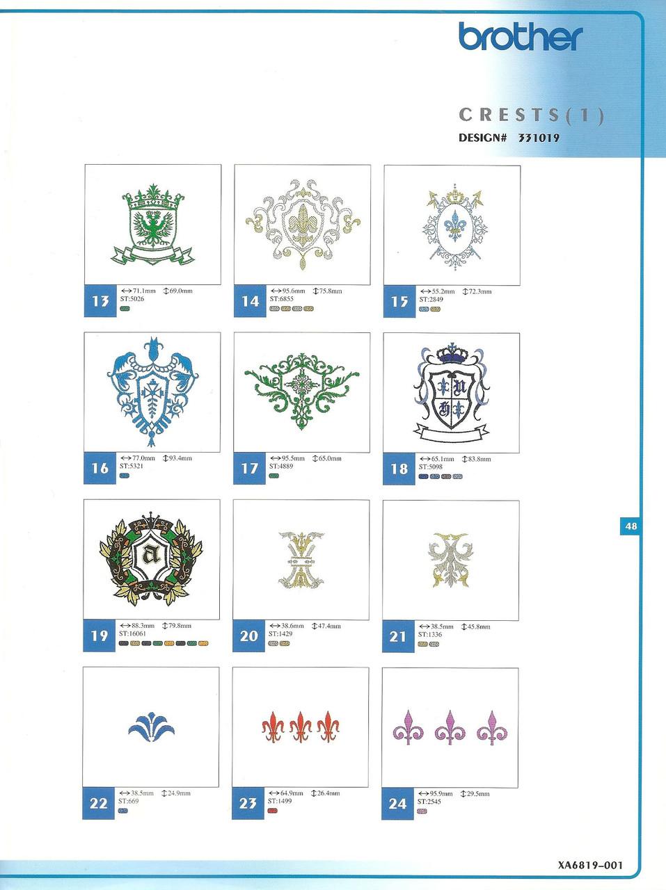331019 Crests I