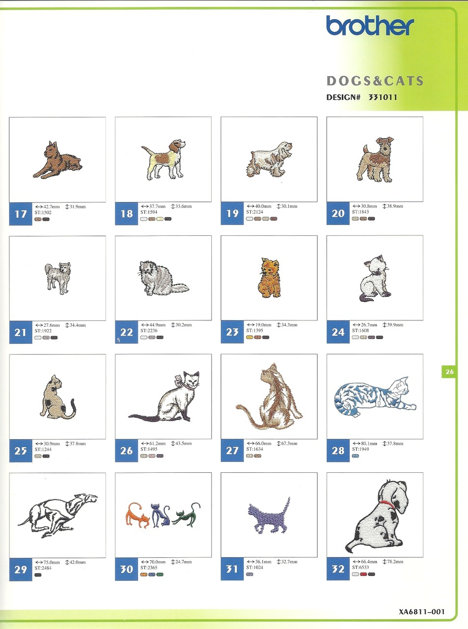331011 Dogs & Cats