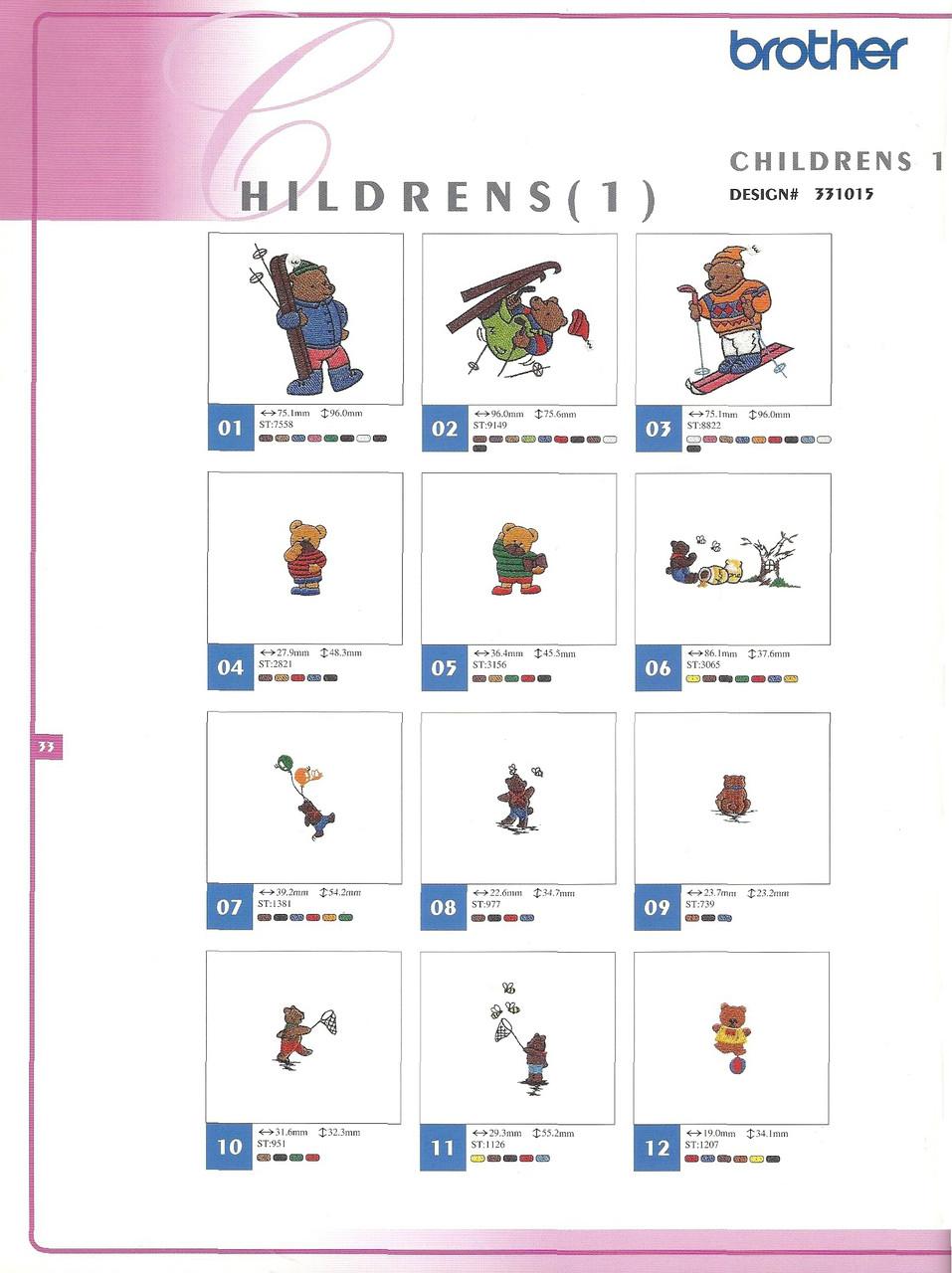 331015 Childrens I