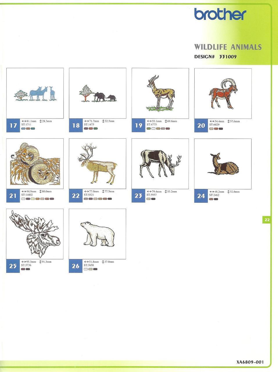 331009 Wildlife Animals-2
