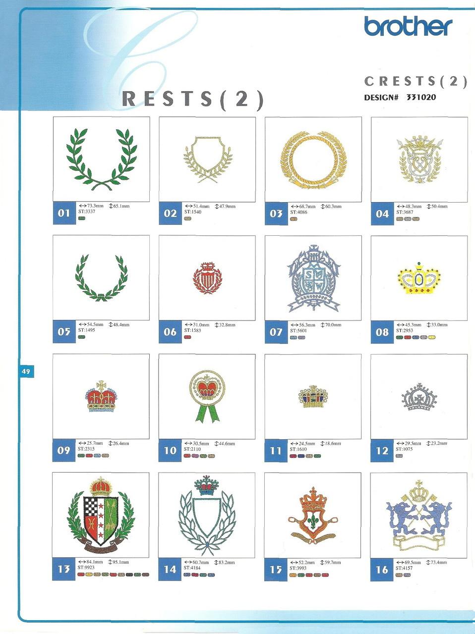 331020 Crests II-2