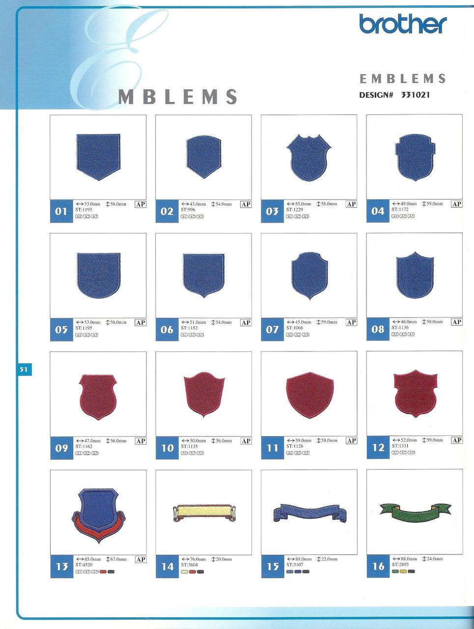 331021 Emblems