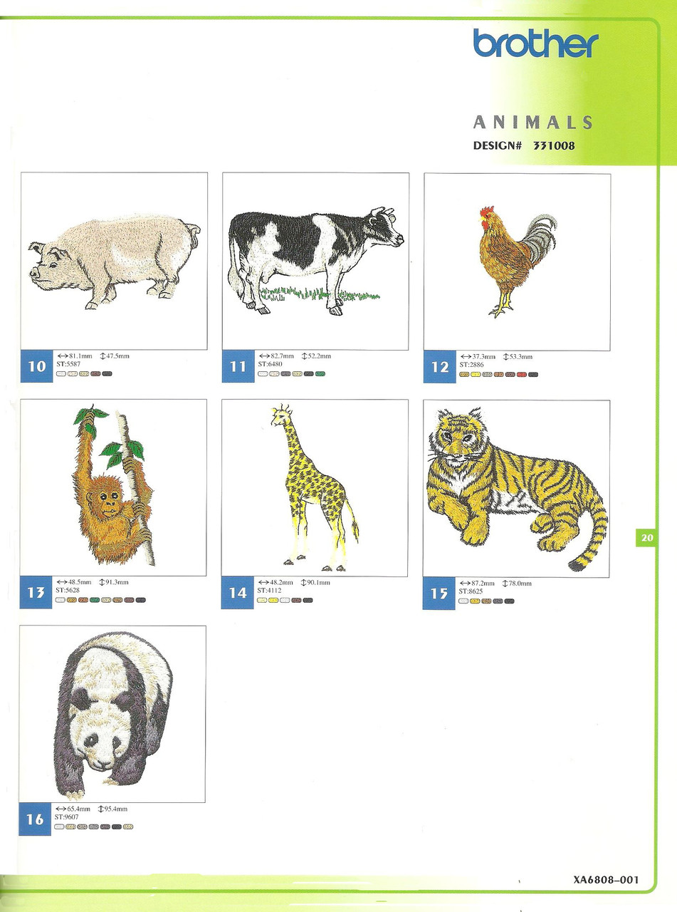 331008 Animals-2