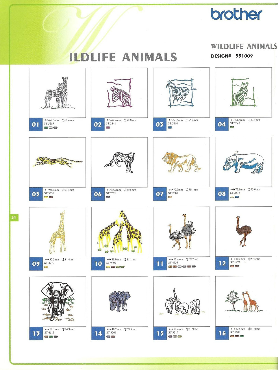 331009 Wildlife Animals