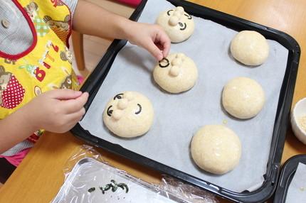お子様とパン作り♪思い出になりますね