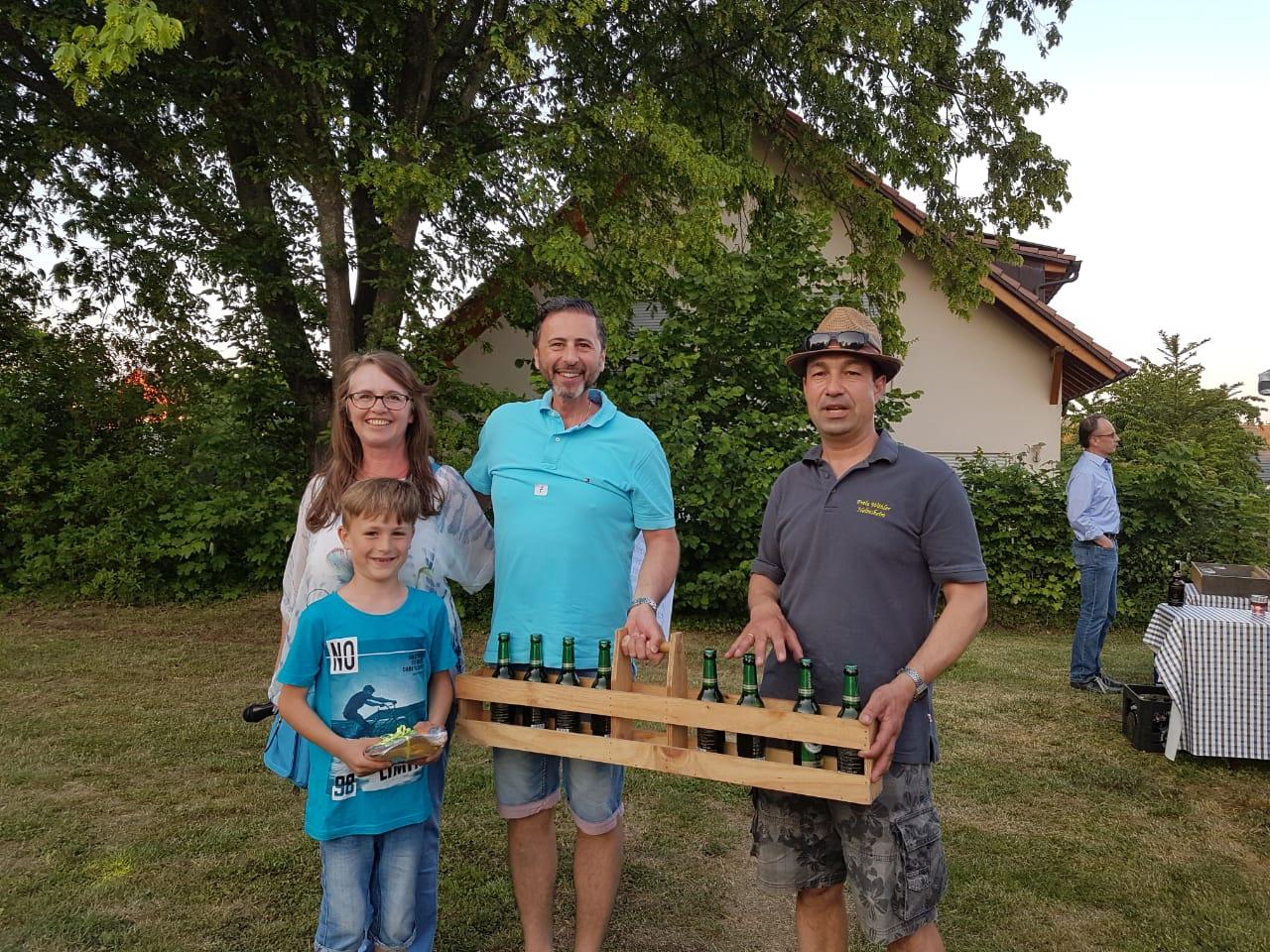 erfolgreiches Helmsheimer Vater und Sohn Team