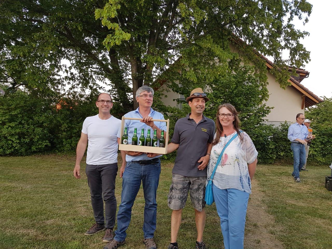 treue Teilnehmer aus Flehingen