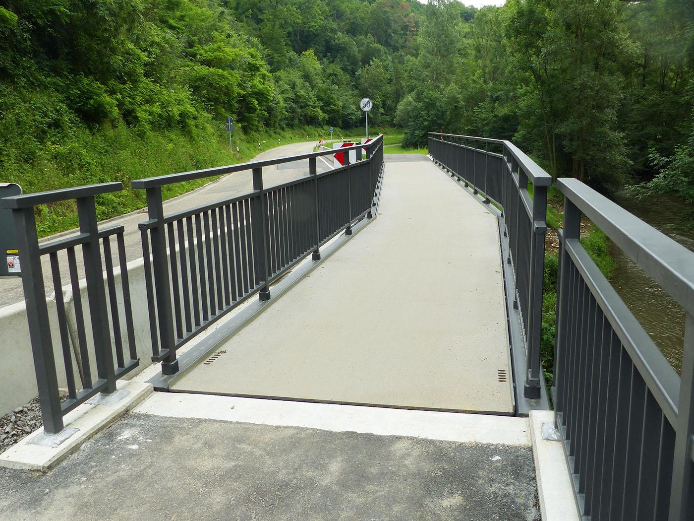 Geländer Radwegbrücke Ohrntal