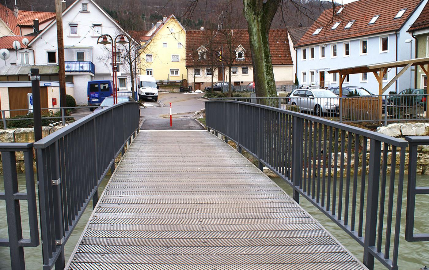 Brückengeländer in Deggingen
