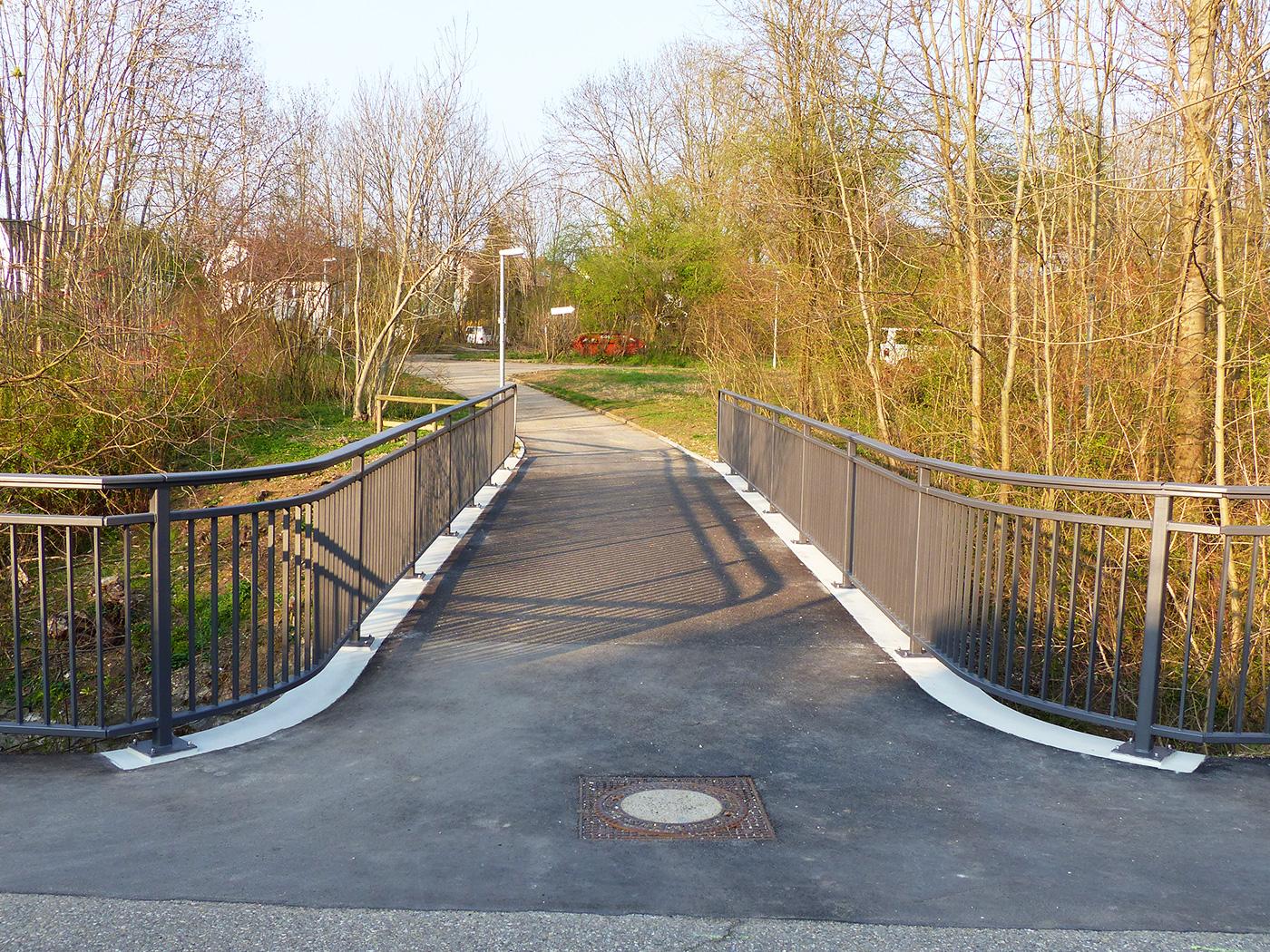 Brücke über die Gießnau Kirchheim Teck