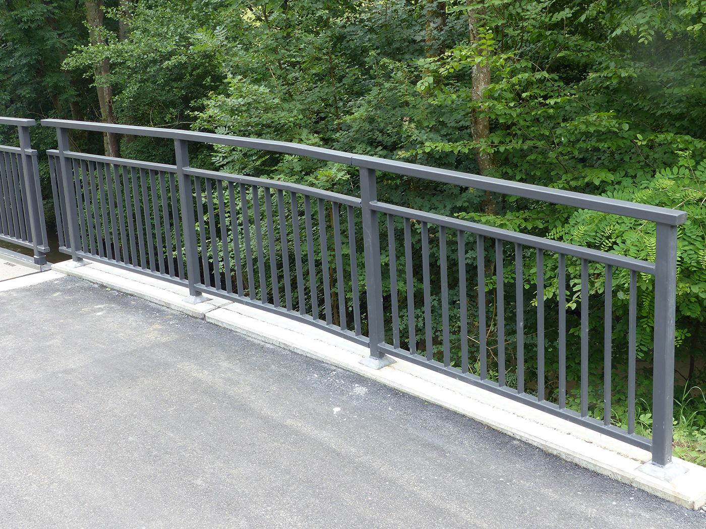 Brückengeländer Ohrntal Öhringen