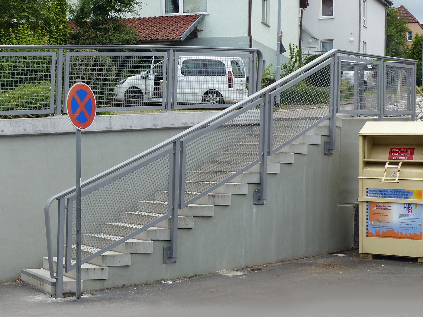 Geländer Esslingen Sulzgries