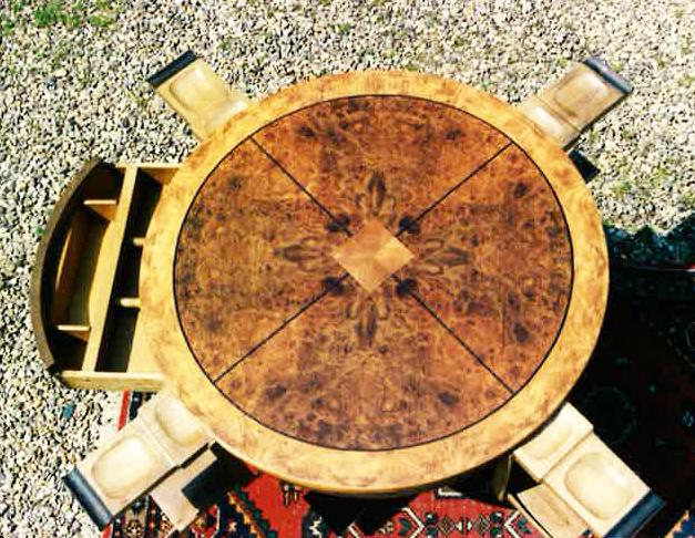 Antiker Spieltisch | Restaurierung
