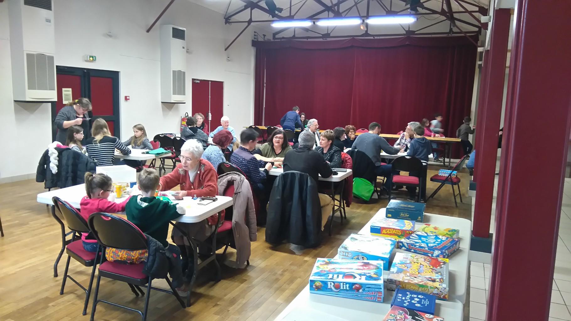 Journée jeux organisée par Familles Rurales