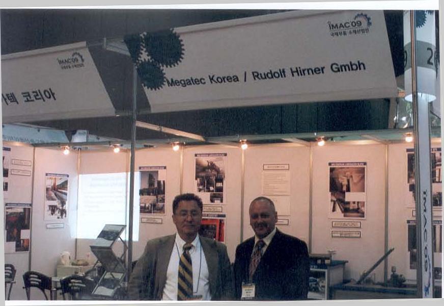 Exhibition stand Korea 2008