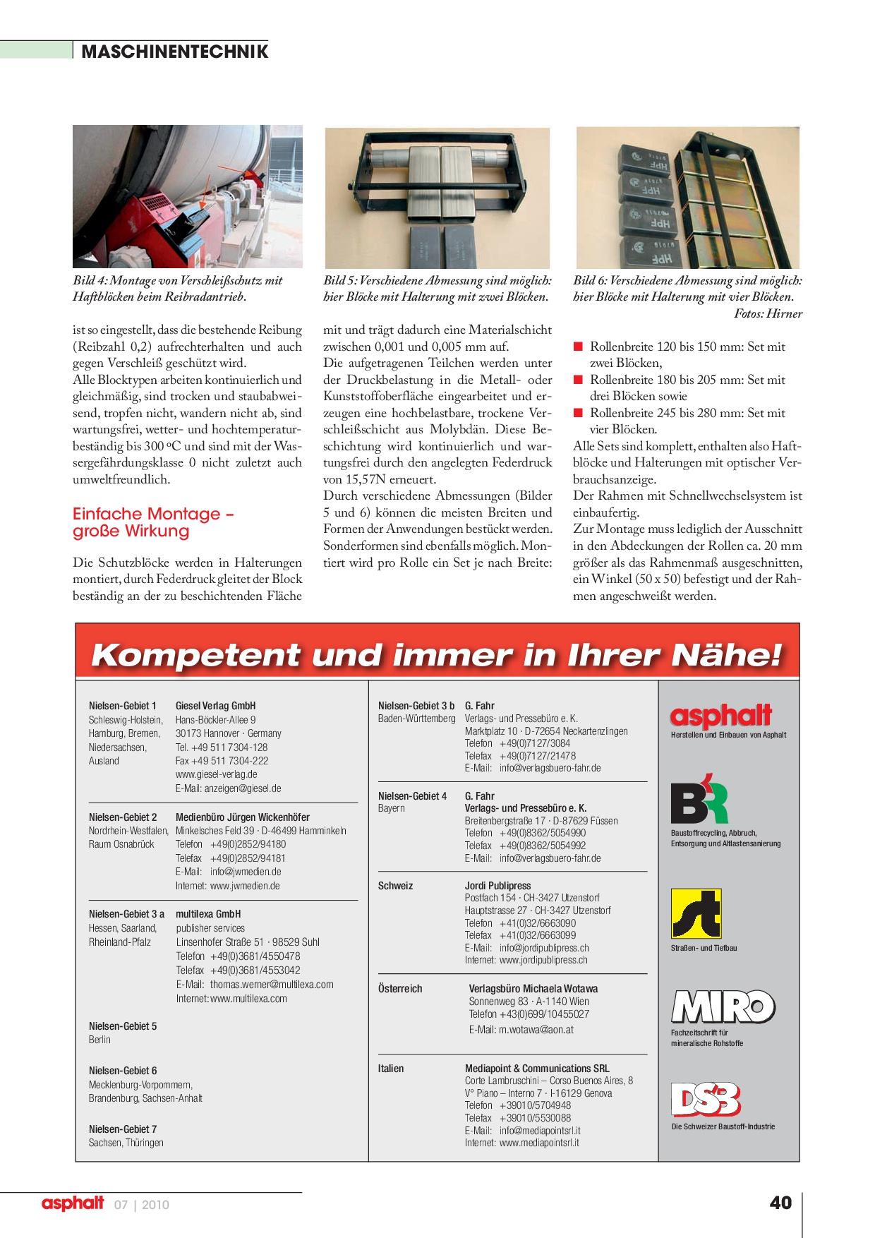 Asphalt Magazin - Verschleißschutz senkt Kosten