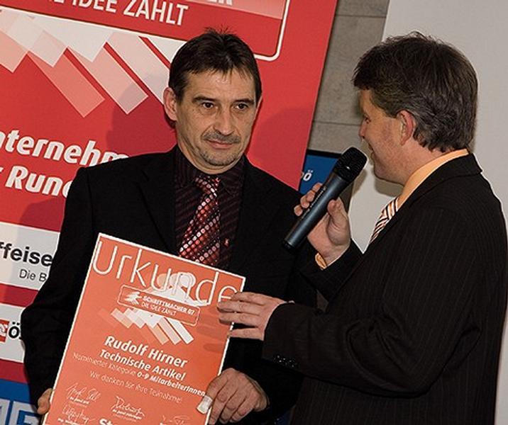 Finalist OÖ Rundschau Schrittmacher 2007