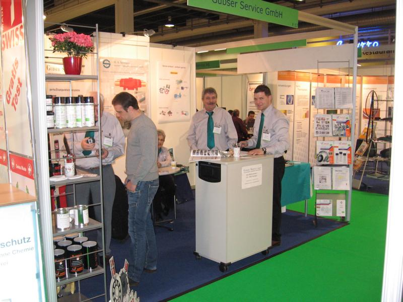 Messestand Zürch 2010