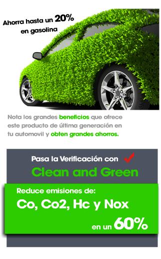 Ecológico Ahorrador de Gasolina y Diésel 100% Seguro
