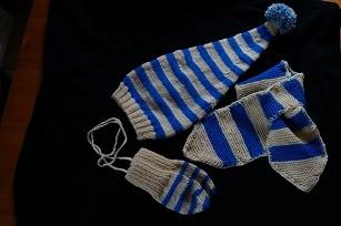 Mütze,Schal,Handschuhe