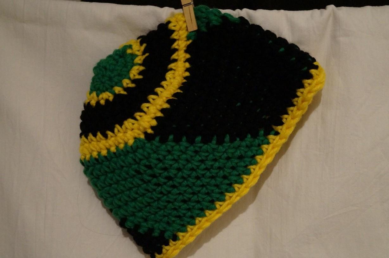 gehäkelte Mütze