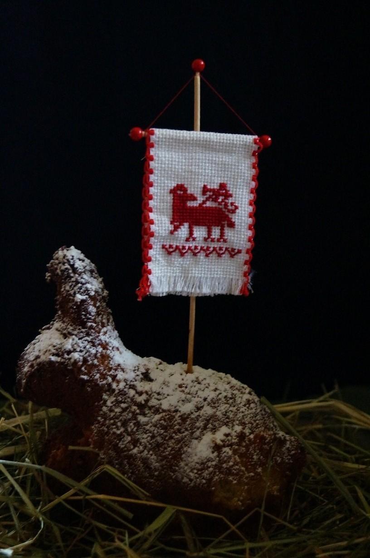 Osterfähnchen Lamm