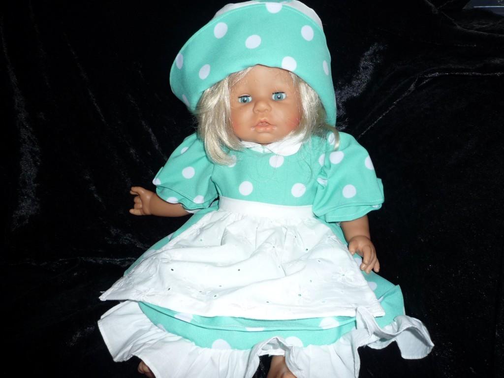 Puppenkleid Elisa