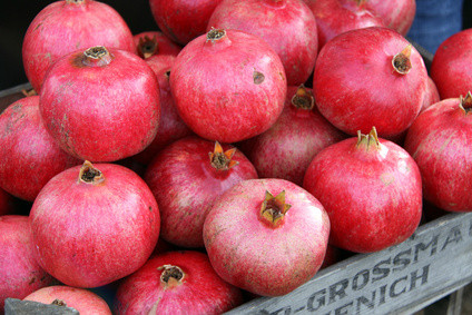 Granatapfel - Phytosubstanzen, Vitamine und Mineralien