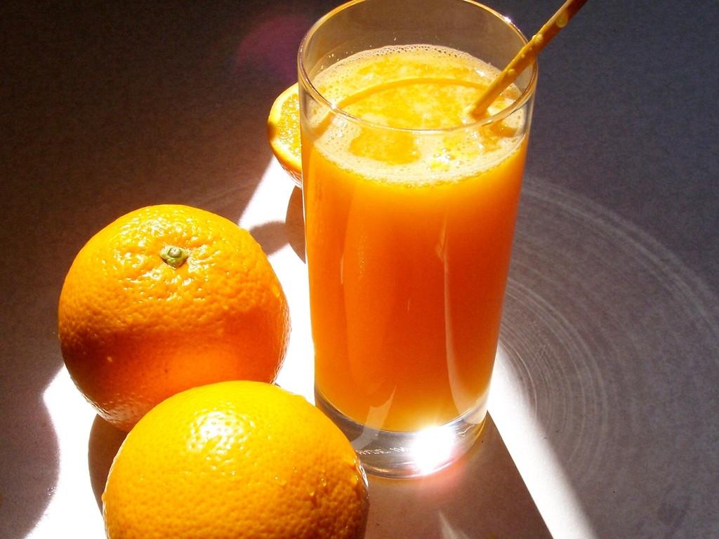 gesunde Nahrung und Getränke