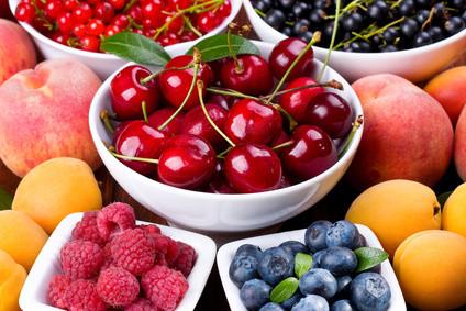 Fruta del bosque - Variedad de vitaminas