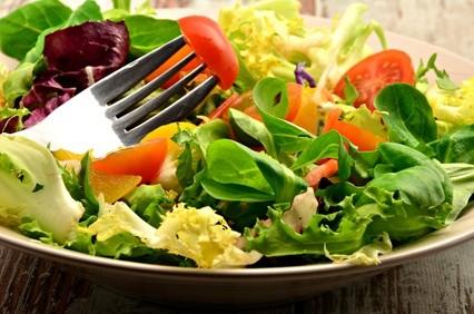 gemischter Salat - Vitamine, Mineralien und Phytosubstanzen