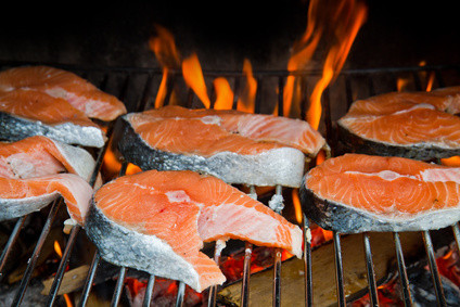 Grilled salmon - Minerals and Amino acids