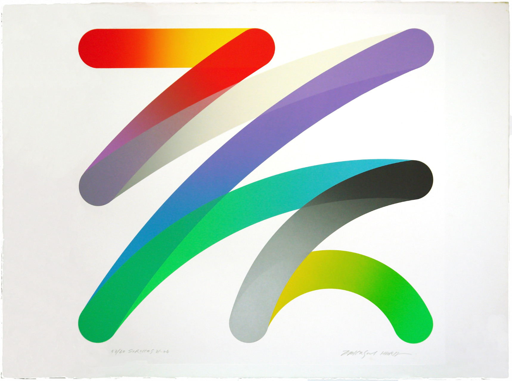 Hara Takeshi from the strokes collection Abstract