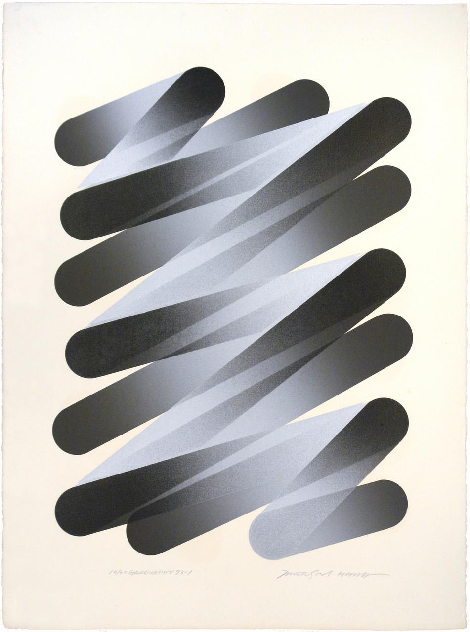 GRADUATION 73-1 1973 Lithograph 76x56cm ED.60