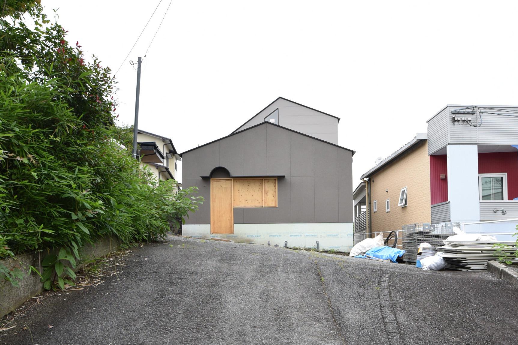 清水本町の家 外壁工事