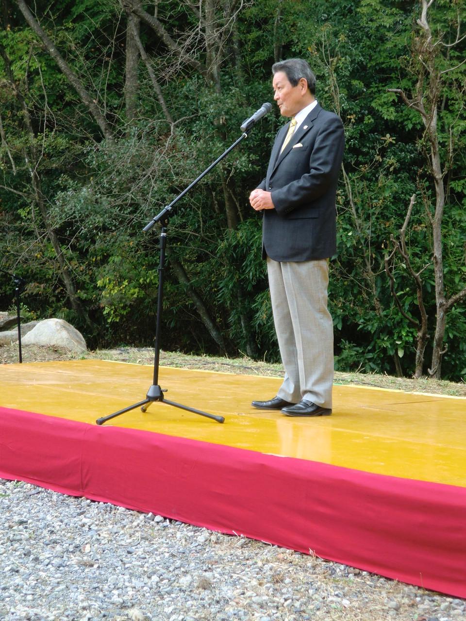 瀬戸市長さんにも、来ていただきました。ありがとうございました。
