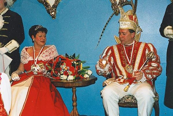 1999 - Prinz Edwin I.  und Prinzessin Veronika I.
