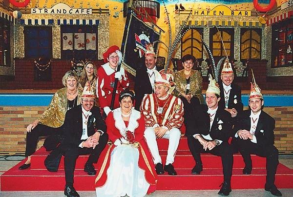 2002 - Prinz Franz I. und Prinzessin Doris I.