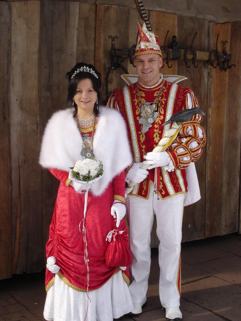 2009 - Prinz Wolfgang I. und Prinzessin Tina I.