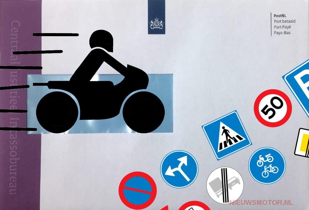 Kabinet: verkeersboete kleine overtreding lager, gevaarlijk weggedrag hoger