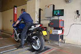 Technische keuring van motorfietsen