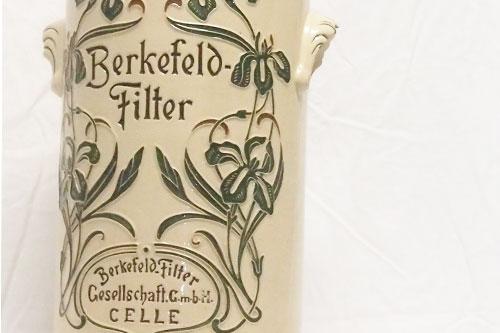 Berkenfeld Filter Pharmageschichte