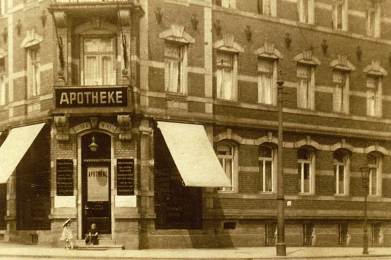 Kronprinzen-Apotheke 1911