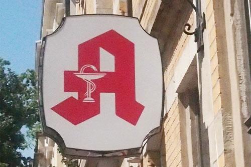 Apotheken A Symbol