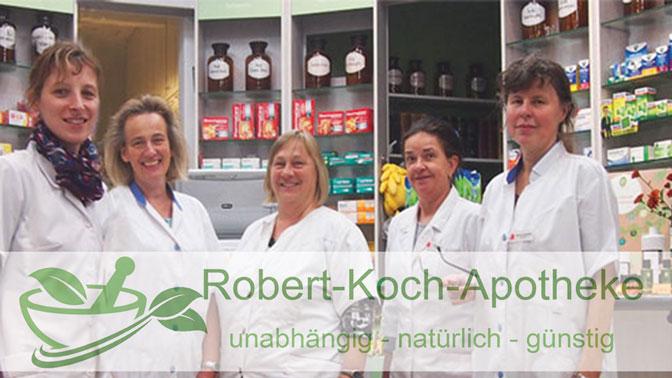 Das Team der Robert-Koch-Apotheke für Dresden-Löbtau
