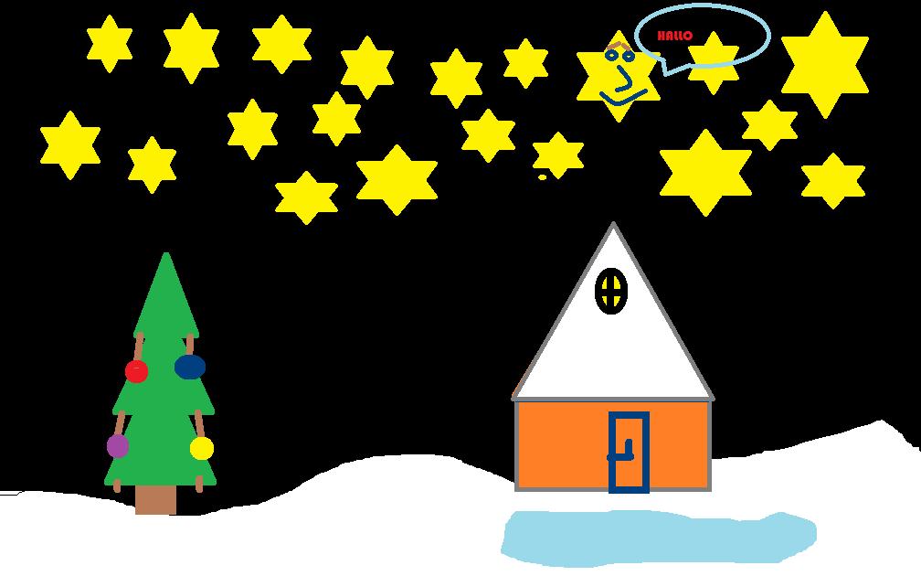 Mikas Weihnachtsbild