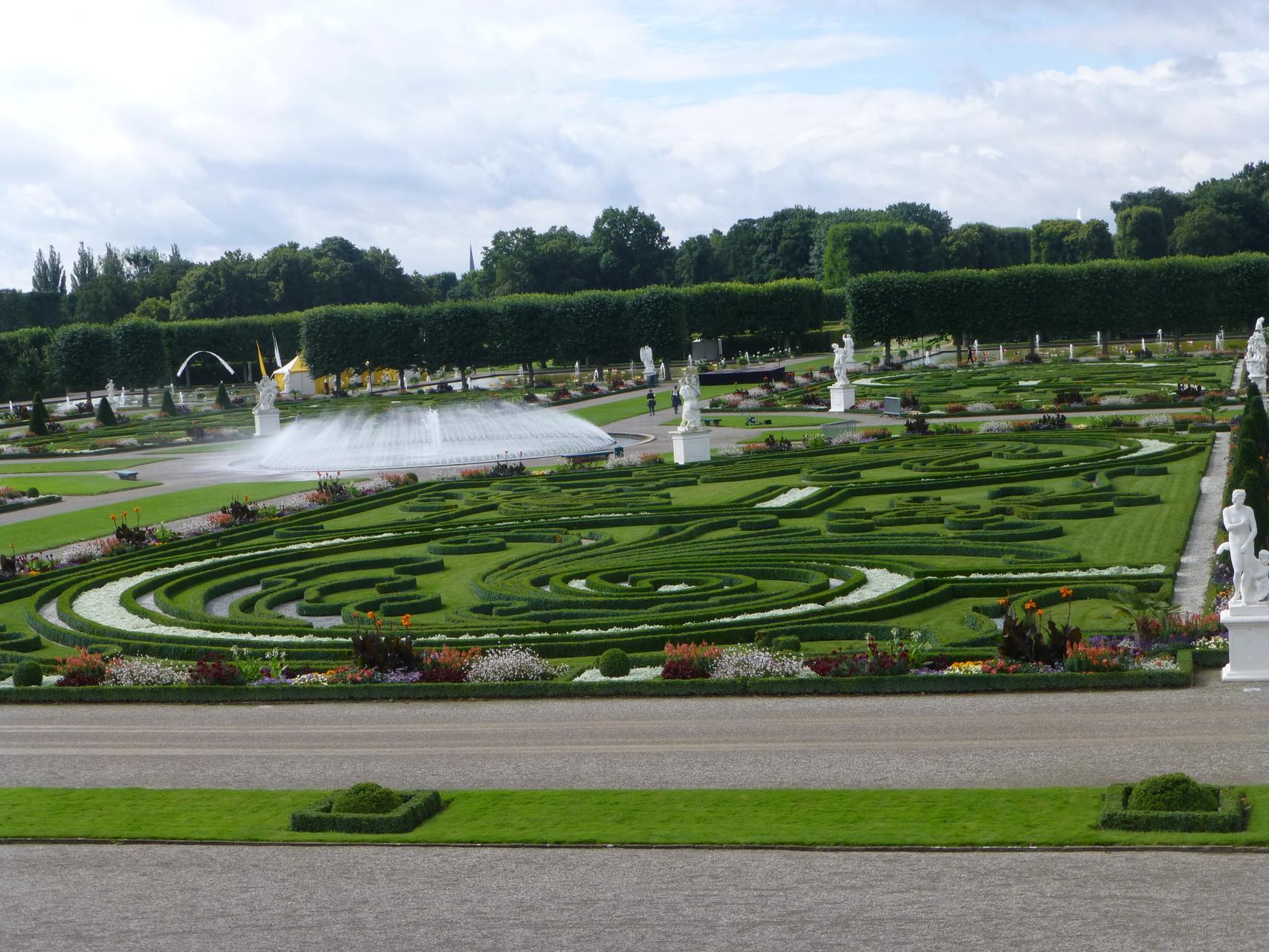 Die barocken Gärten von Herrenhausen