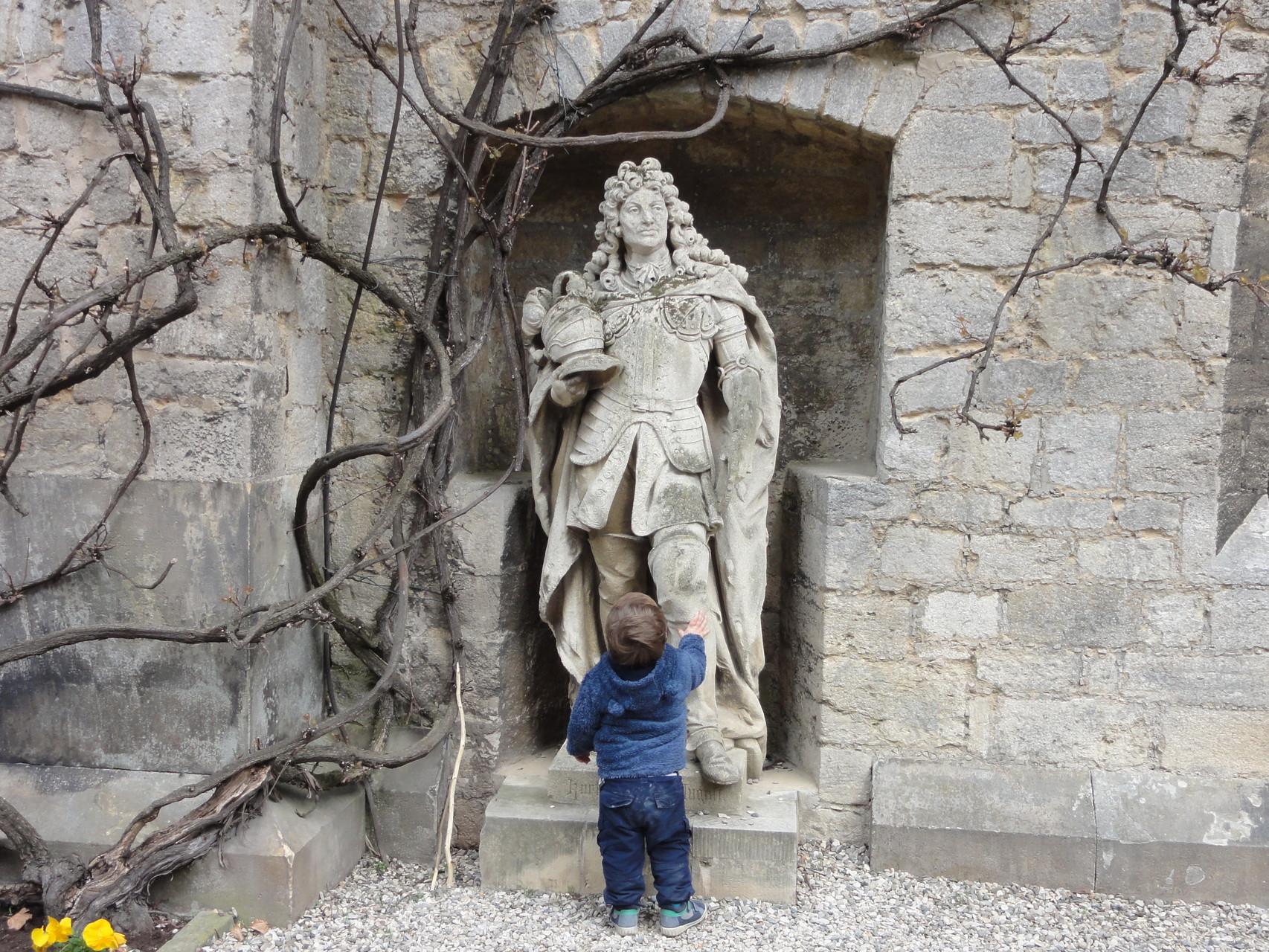 Frühe Begegnung mit historischen Gestalten