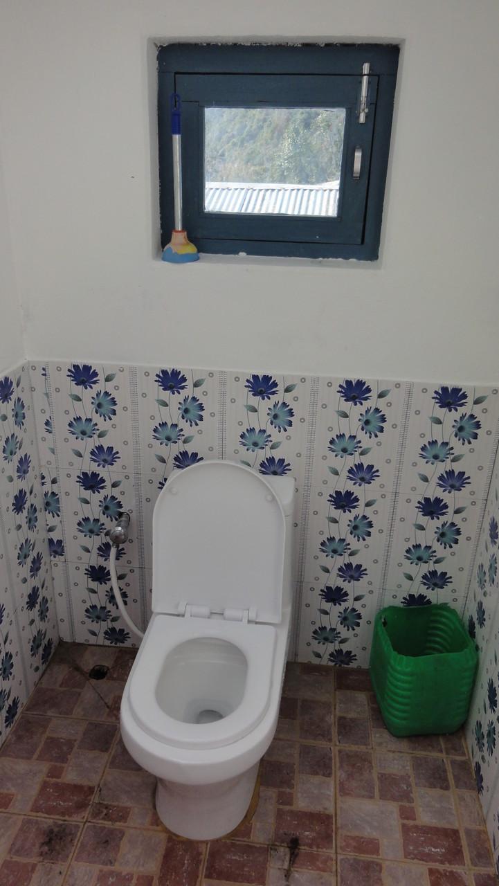 incl. sauberer Toiletten