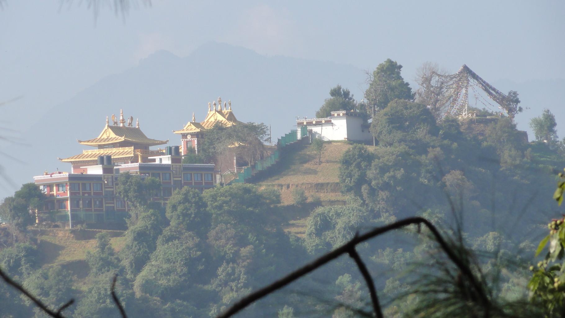 Namo Buddha, eine der wichtigsten buddhistischen Stätten erpilgern